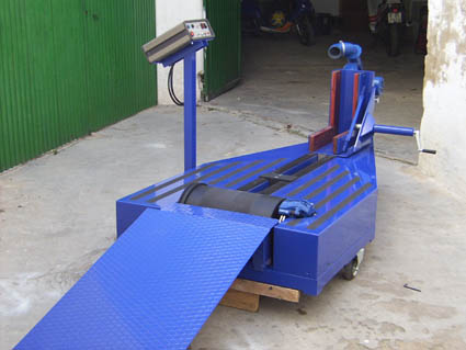 Chassis Motorbike Dyno